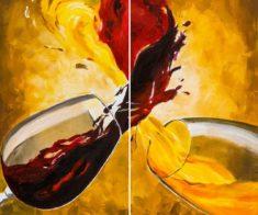 Мастер-класс по живописи «Вино»