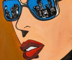 Мастер-класс акриловой живописи «Отражение»