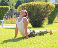 Утренняя практика йоги в студии «ЙогаОМ»