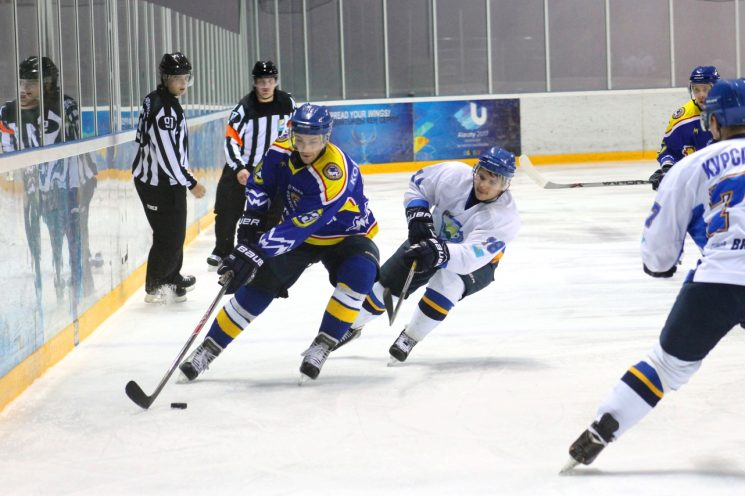 Хоккей: Алматы - Алтай-Торпедо
