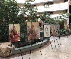 Благотворительная выставка картин алматинских художников