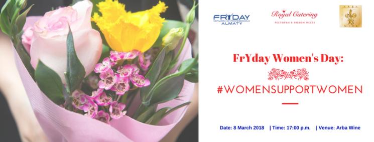 FrYday International Women's Day!