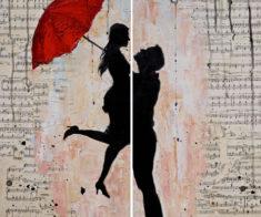 Мастер-класс по живописи «Я люблю тебя»