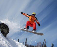 Катания на лыжах и сноубордах