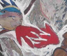 Выставка Алмагуль Менлибаевой «Птица Амагу-ра»