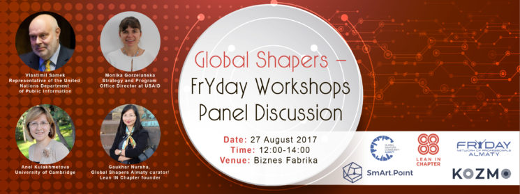 Global Shapers-FrYday Workshops-Panel Discussion