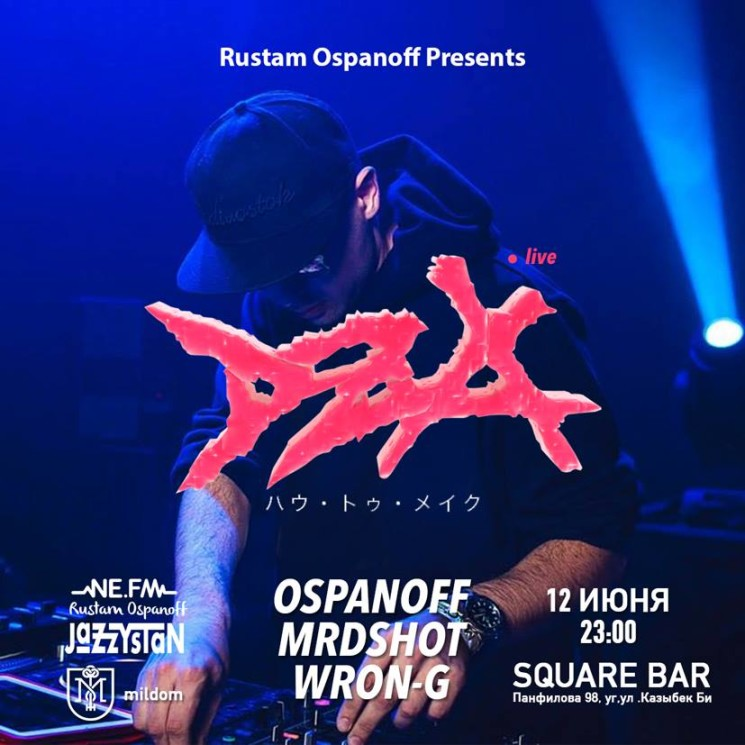 Rustam Ospanoff presents DZA
