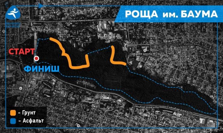 Летний забег Алматы марафона