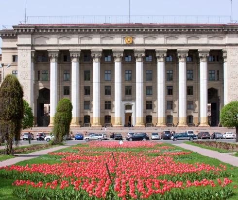 Центральный сквер Алматы