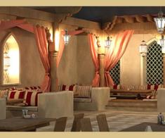 Летняя терраса и ресторан «Al-Wadi»