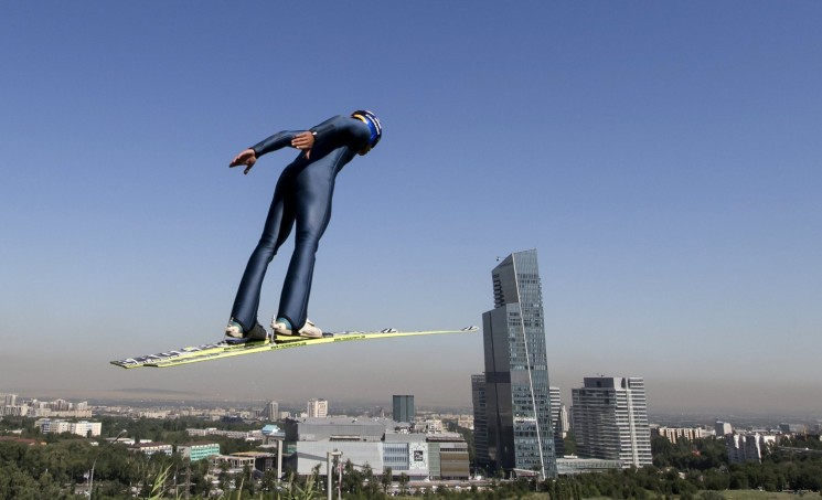 Grand Prix Ski Jumping Almaty