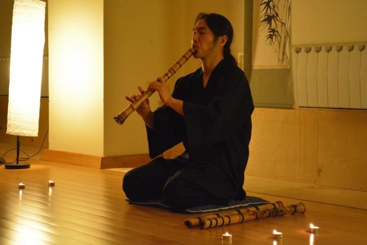 Концерт Ириэ Ёске (японская флейта саякухати)