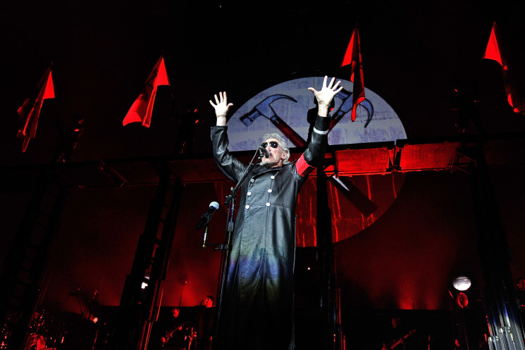 """Roger Waters Performs """"The Wall Live"""" At O2 Arena In London"""