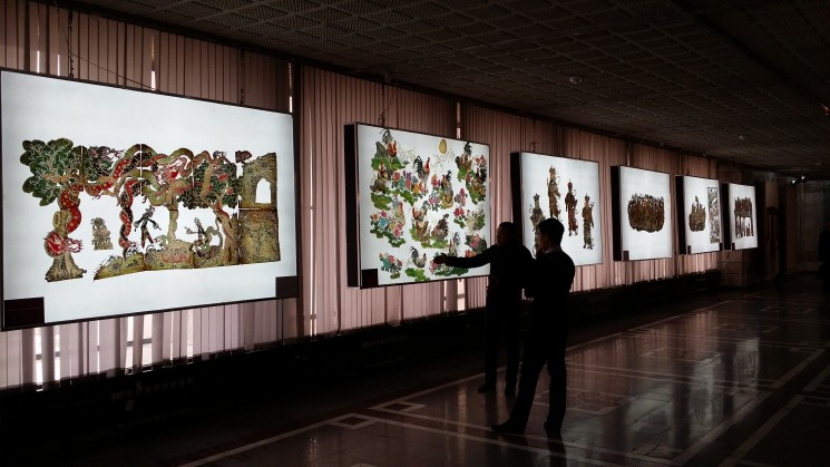 Выставка «История Великого Шелкового пути — Театр теней провинции Шэньси»