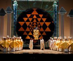Показ оперы «Волшебная флейта»
