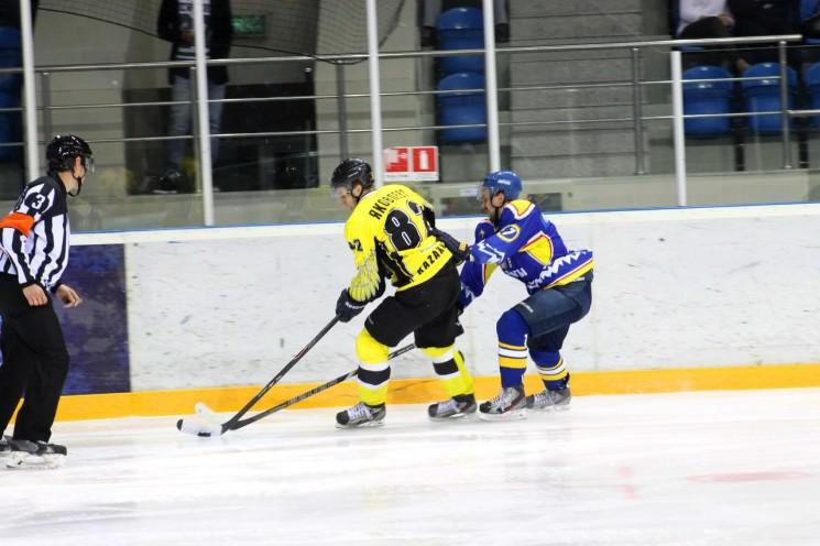 Хоккей: Алматы — Арлан