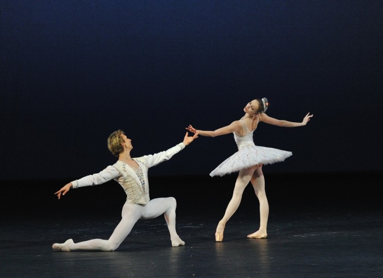 Показ балета «Драгоценности»