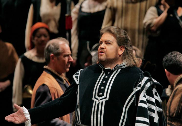 Показ оперы «Тангейзер»