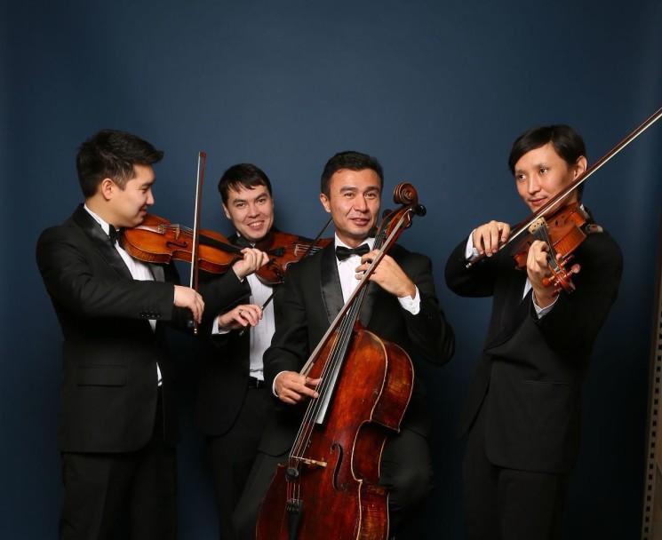 Концерт струнного квартета имени Г. Жубановой