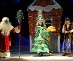 Спектакль «И падал волшебно снег…»