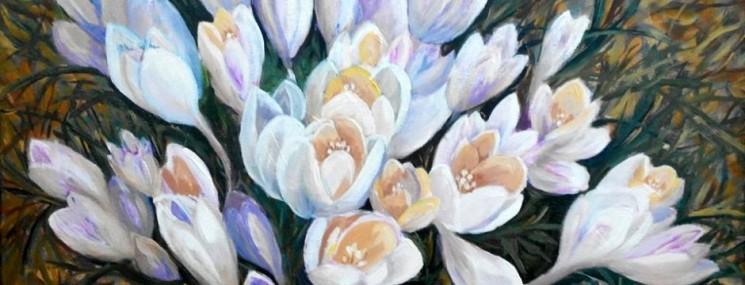 """Выставка """"Весна, цветы"""""""