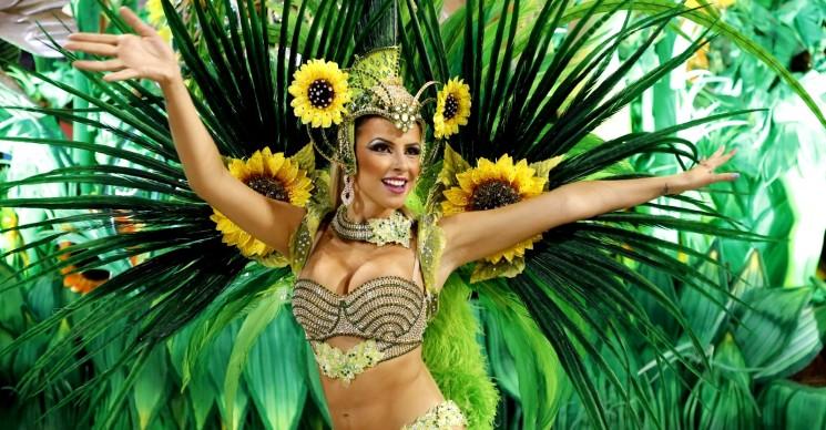 Фестиваль бразильских танцев