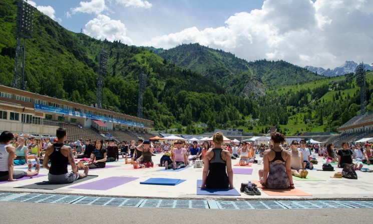 Kazakhstan Yoga Fest