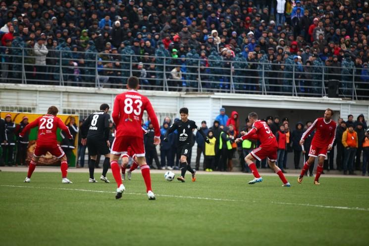 Футбол: Кайрат - Акжайык