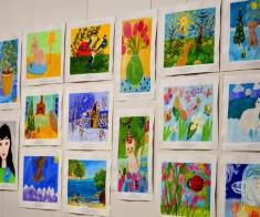 Выставка — продажа  «Мир глазами детей II»
