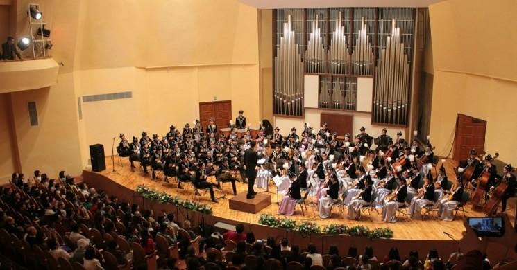 Концерт традиционной казахской музыки