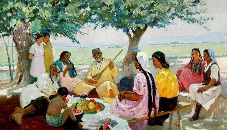 Выставка «Тюркский романтизм»