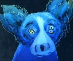 Открытая сцена «Глаза голубой собаки»