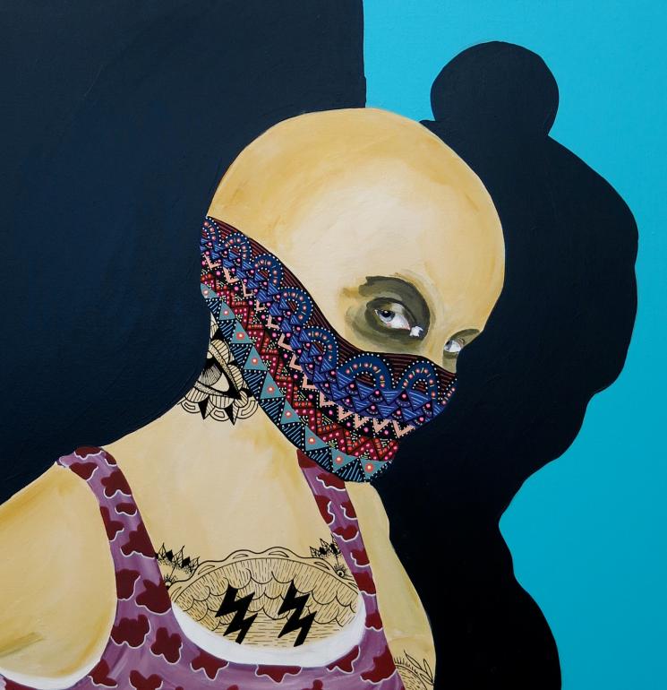 "Contemporary art exhibition ""Urban Dawn"""