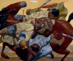 Выставка «Степные истории» Зорикто Доржиева