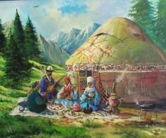 Казахская юрта от истоков до наших дней