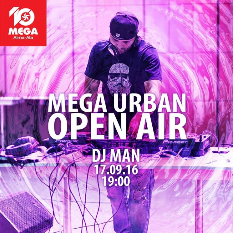 Mega Urban Open Air с DJ Man
