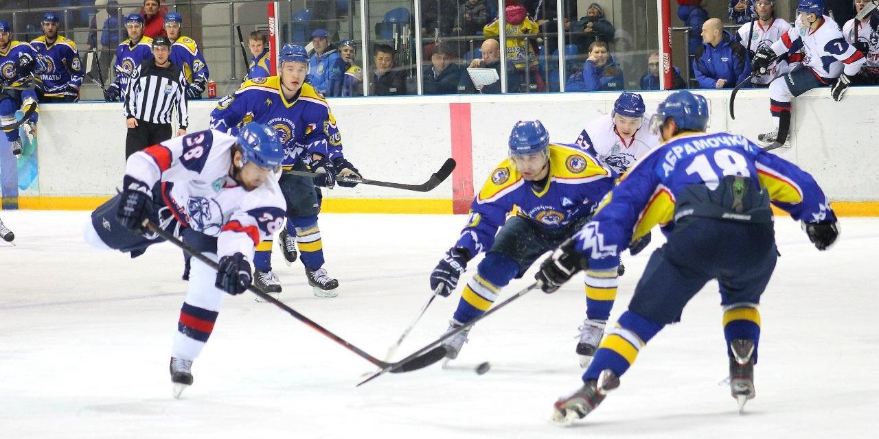 Хоккей: Алматы - Кулагер
