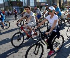 Велопробег в честь Дня столицы