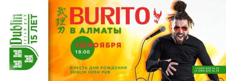 Burito в Dublin Pub