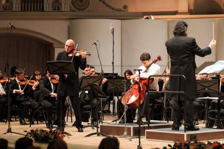 Концерт Алексея Лундина (скрипка)