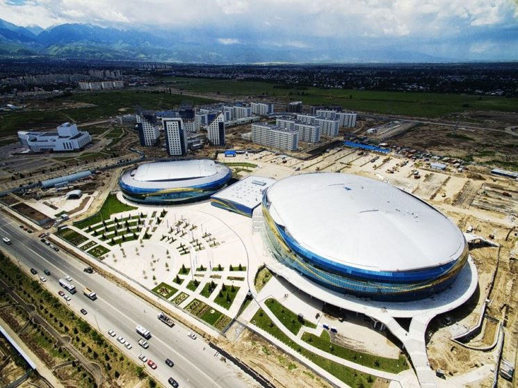 Ледовый комплекс «Алматы Арена»
