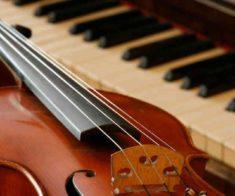 Ашим Унайбеков (скрипка), Арман Тлеубергенов (фортепиано)