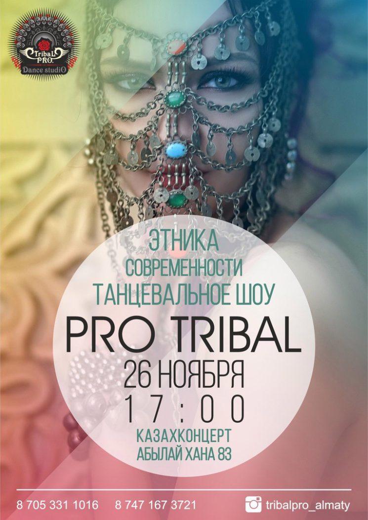 Танцевальное шоу Pro Tribal