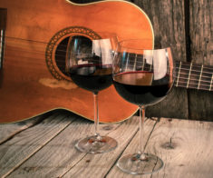 Guitar & Wine