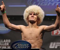 Встреча с бойцом UFC Хабибом Нурмагомедовым