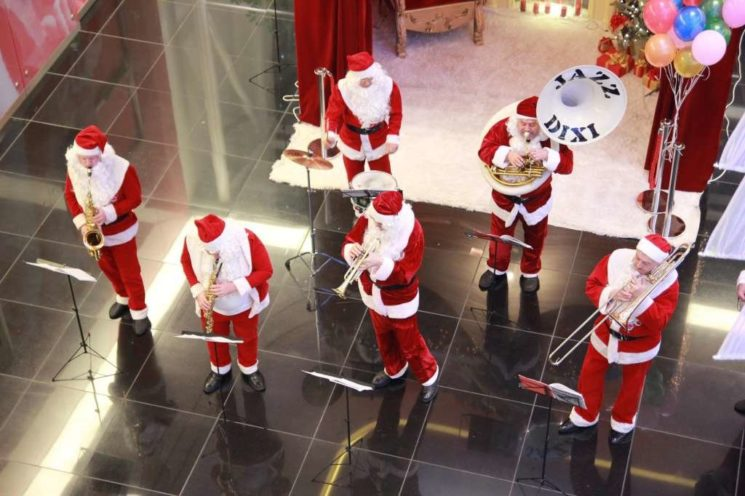 Новый год с Esentai Mall