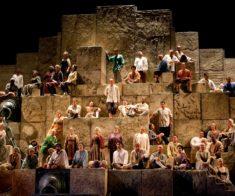 Показ оперы «Набукко»