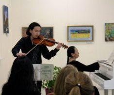 Музыкальный вечер в арт-галерее «Белый Рояль»
