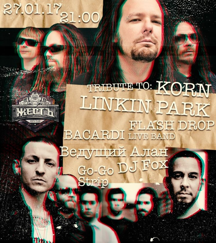 Tribute to Linkin Park & Korn