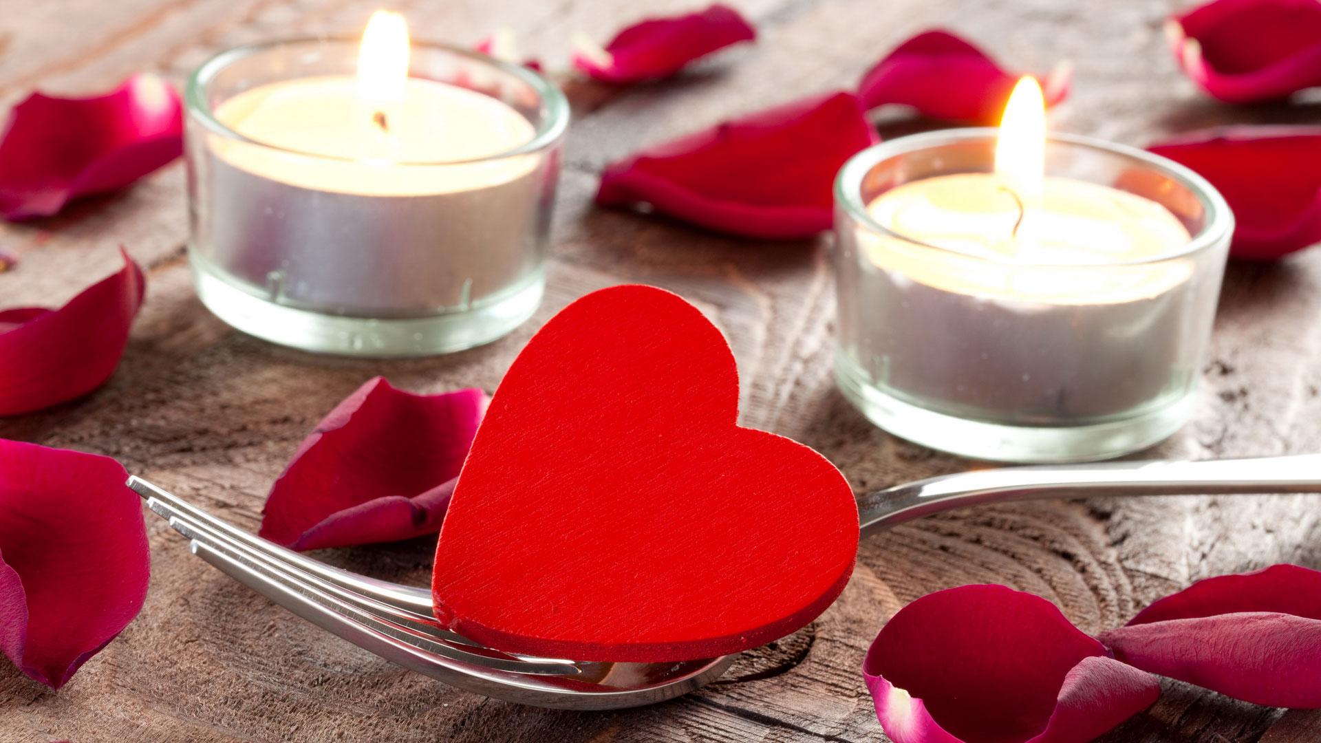 романтический ужин онлайн